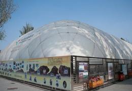 節能、工期短、有效隔絕PM2.5,氣膜場館打開中國冰雪産業發展思路