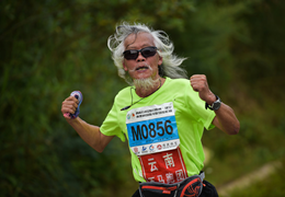 中國馬拉松攝影大賽,定格跑馬人生精彩瞬間(1)|老驥伏櫪:有一種激情,無關年紀