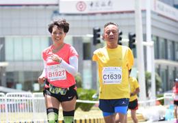 中國馬拉松攝影大賽,定格跑馬人生精彩瞬間(2)|身殘志堅:有一種向往,無人可擋