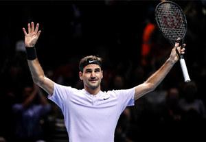第14次打入ATP年終總決賽半決賽刷新世界紀錄,費德勒稱不敢再把世界第一當做人生目標