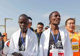 中国马拉松的非洲淘金客:跑个两次,就能回老家买地