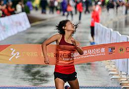 廣安黨報頭版關注中國馬拉松攝影大賽,7幅攝影作品入圍展現城市風採