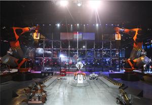 """浙江卫视做了一档机器人格斗科技真人秀节目,力图打造机器人格斗领域的""""世界杯"""""""