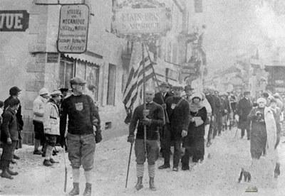 第一屆:1924年夏蒙尼冬奧會