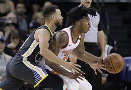籃球——NBA常規賽:勇士勝太陽
