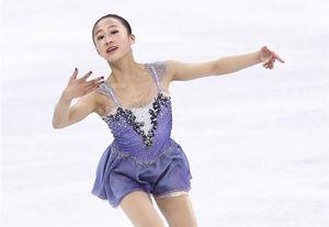 花樣滑冰——女子單人滑:李香凝獲第22名