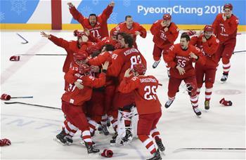 冰球男子決賽:俄羅斯奧林匹克選手奪冠