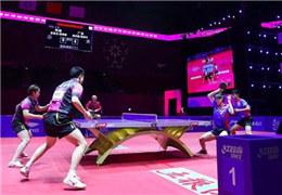 國手與業余球員混搭參賽,這項乒乓球創新賽事不簡單