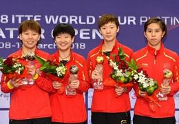 實力難以撼動!中國隊囊括卡塔爾乒乓球公開賽所有冠軍