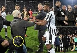 俱樂部老板攜槍質疑裁判,希臘決定無限期暫停足球超級聯賽