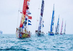"""克利伯環球帆船賽:""""青島號""""抵達母港,獲第8賽段第5名"""