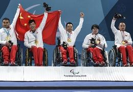 平昌摘金书写历史,中国轮椅冰壶队载誉归国