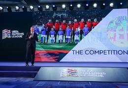 """欧足联在京发布新IP""""欧洲国家联赛"""",已获中国合作伙伴站台背书"""