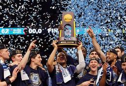 三年两冠!维拉诺瓦击败密歇根大学拿下NCAA冠军