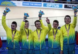 扬眉吐气!英联邦运动会上澳自行车队打破男子团体追逐赛世界纪录
