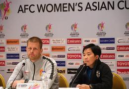 """中国女足主帅谈亚洲杯的""""小目标"""":要让球迷为女足骄傲"""