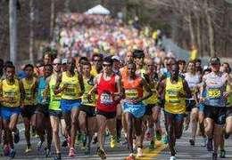 日本選手川內優輝、美國人林登分獲波士頓馬拉松男女冠軍