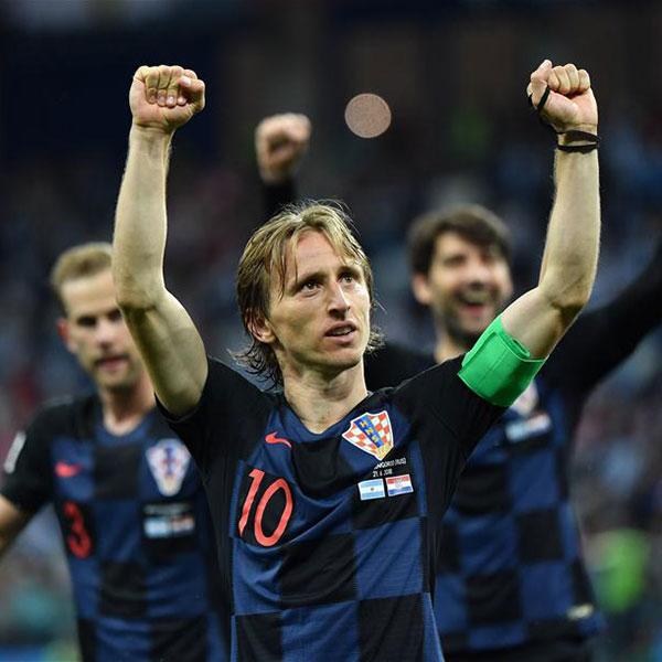 D组:克罗地亚队击败阿根廷队