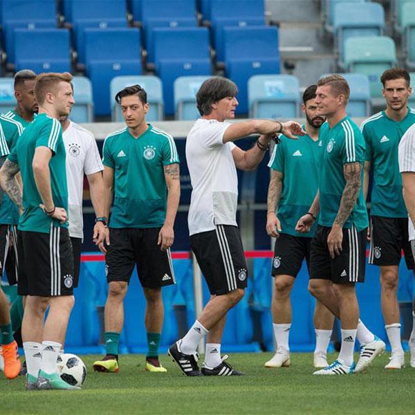 世界杯:德国队备战