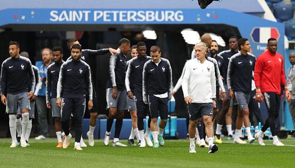 法国队备战半决赛