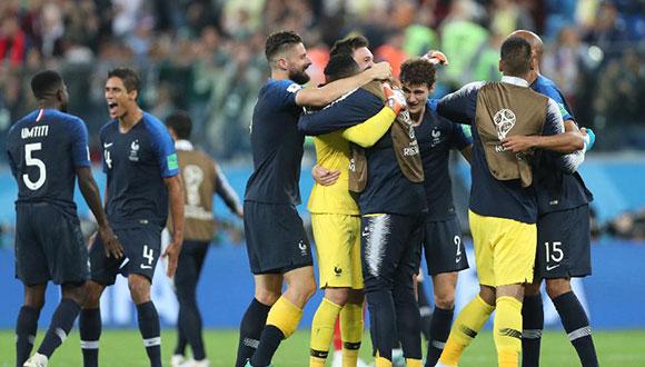 法國隊晉級決賽
