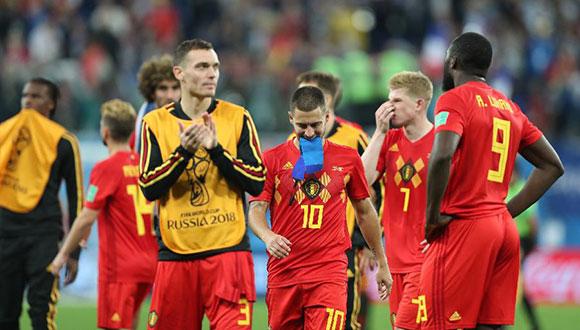 比利時隊無緣決賽