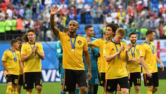 比利时队获季军 创历史最佳战绩