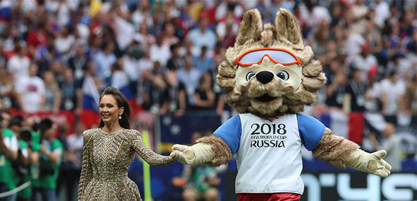 世界杯閉幕式舉行