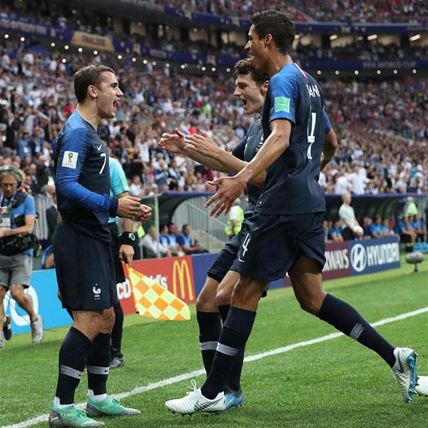 决赛:法国队得分