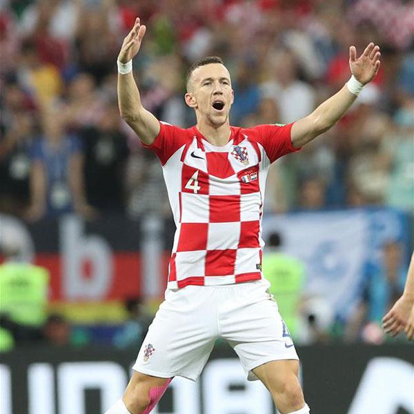 决赛:克罗地亚队佩里西奇扳平比分