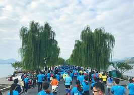 杭州馬拉松經典賽道保持不變,細節體現杭州韻味