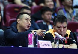 2018女乒世界杯成都開幕,劉國梁出席開幕式