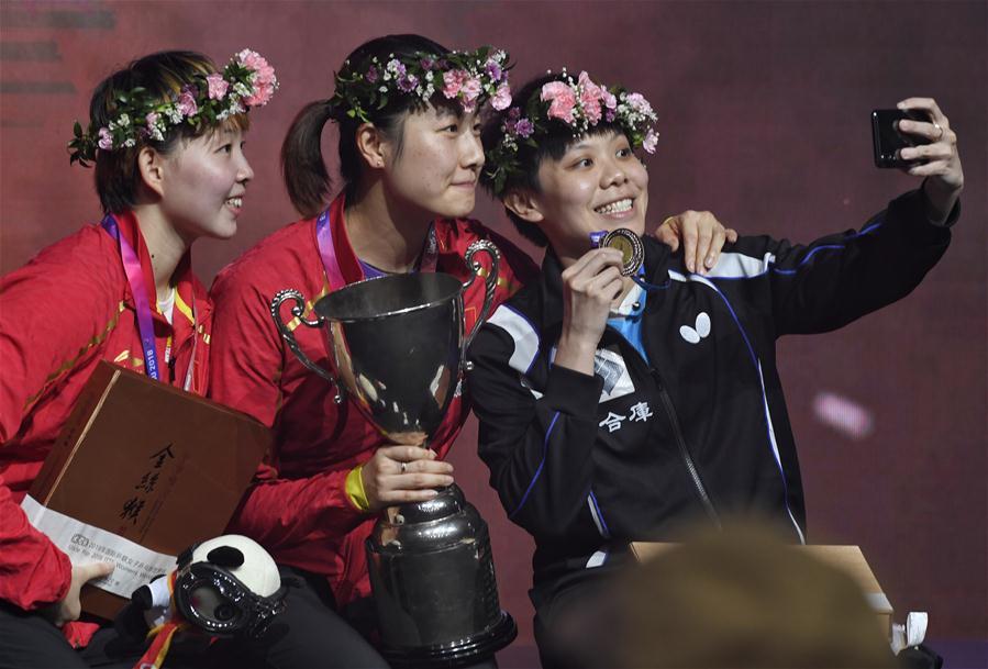 丁寧奪2018女乒世界杯冠軍