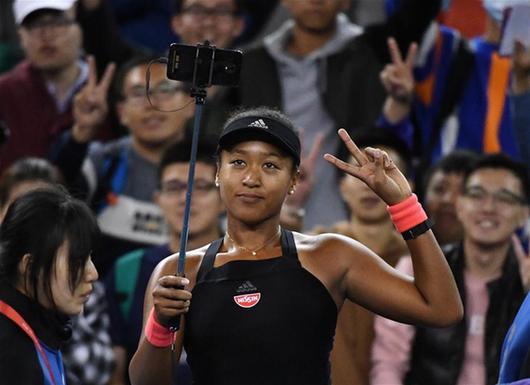 大坂直美:拿下美網冠軍就像吃下抹茶冰淇淋