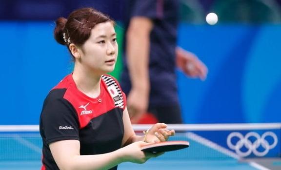 日本乒乓球選手福原愛宣布退役