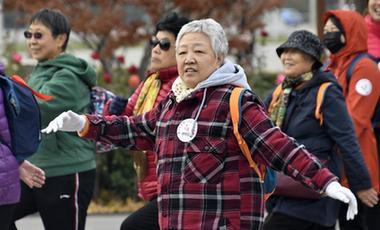 全民健身——初冬時節健身熱