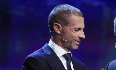 塞弗林將連任歐足聯主席