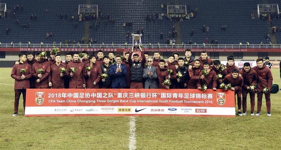 國際青年錦標賽:中國隊獲亞軍