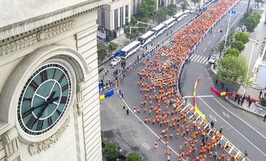 跑一場馬,愛一座城——鏡頭下的中國馬拉松