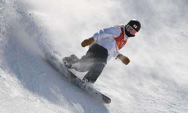 自由式滑雪空中技巧世界冠軍齊廣璞助力冰雪運動進校園