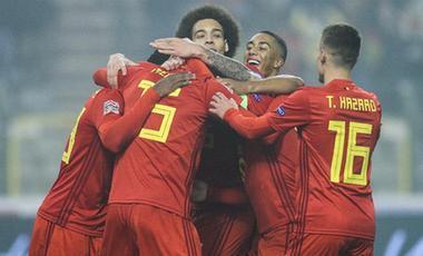 比利時足球隊有望繼續保持世界第一