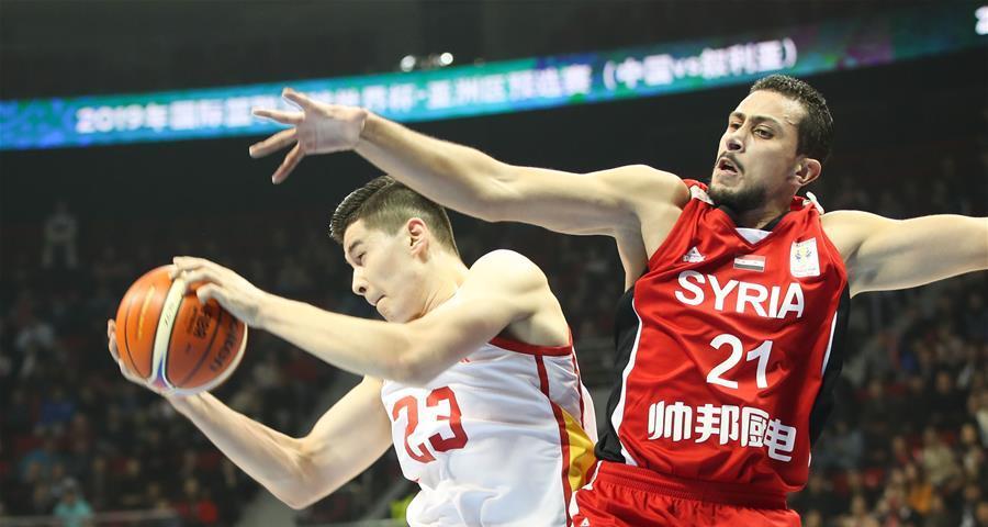 紅藍合並首次亮相 中國男籃大勝敘利亞