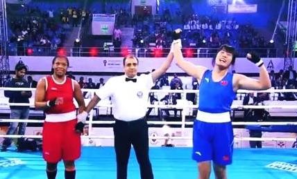 """內蒙古女拳教練:拳擊不是""""打架"""",女子拳擊很安全"""