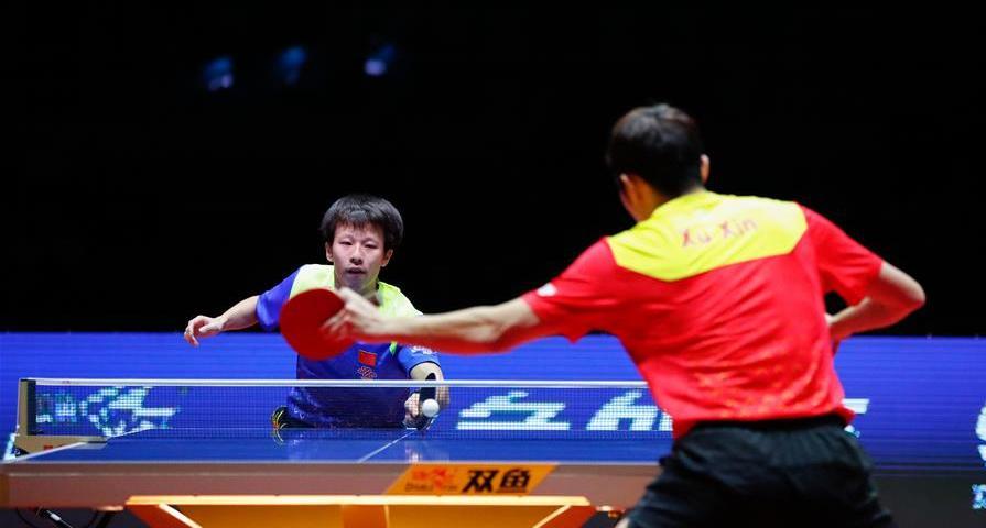 國際乒聯總決賽:林高遠勝許昕