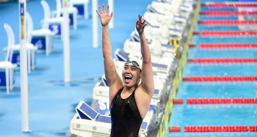 短池世錦賽:傅園慧晉級女子50米仰泳決賽