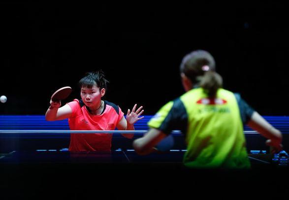 中國隊女單包攬國際乒聯總決賽四強
