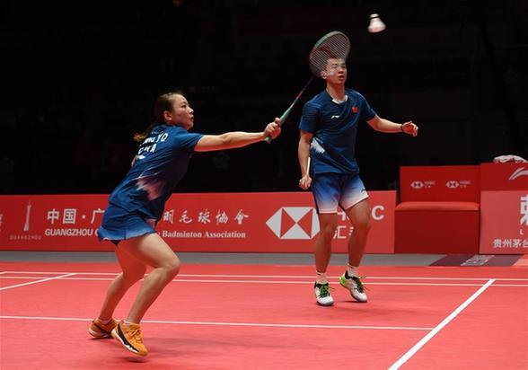 羽聯世界巡回賽總決賽:中國隊組合會師混雙決賽