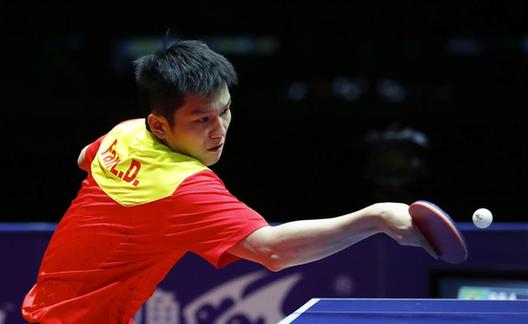 國際乒聯總決賽巴西人卡爾德拉諾爆冷擊敗樊振東挺進四強