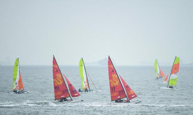 中國帆船聯賽的標簽:職業化、國際化與奧林匹克