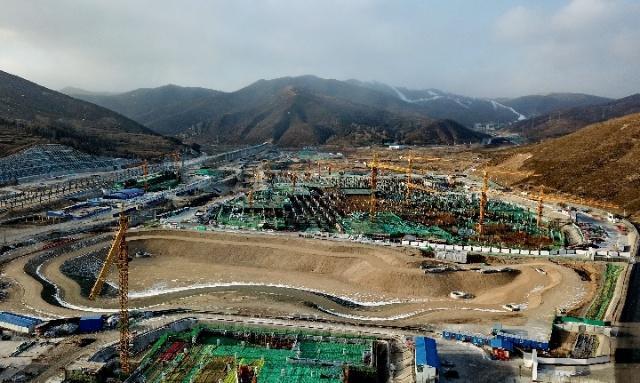 張家口市冬奧項目建設進度超預期